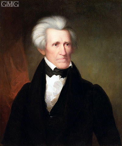 Andrew Jackson, 1835 | Asher Brown Durand | Painting Reproduction