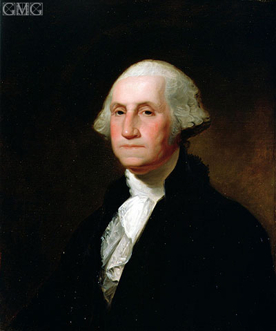 Portrait of George Washington, Undated | Asher Brown Durand | Painting Reproduction