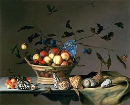 Still Life, undated by van der Ast | Painting Reproduction