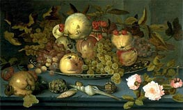 Still Life with Fruits | van der Ast | Painting Reproduction