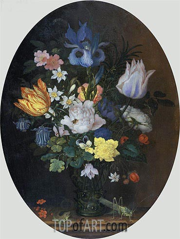 Flower Still Life, 1622 | van der Ast | Painting Reproduction