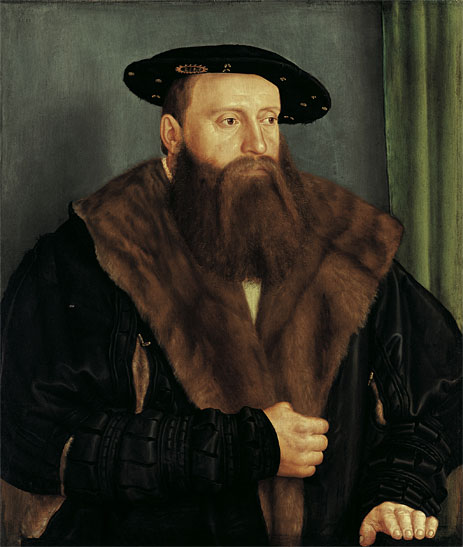 Portrait of Duke Ludwig X of Bavaria, 1531 | Barthel Beham | Painting Reproduction