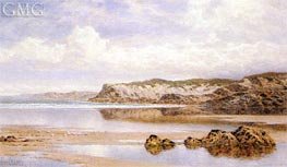 The Incoming Tide, Porth Newquay | Benjamin Williams Leader | Gemälde Reproduktion