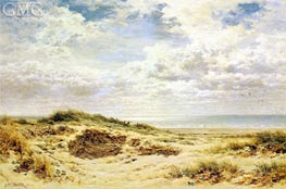 Morning on the Sussex Coast | Benjamin Williams Leader | Gemälde Reproduktion