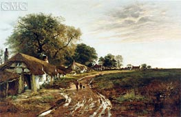 Sunshine After Rain, 1882 by Benjamin Williams Leader | Painting Reproduction