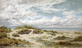 A Sandy Shore on the South Coast, 1904 by Benjamin Williams Leader | Painting Reproduction