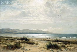 On the Sands, 1893 by Benjamin Williams Leader | Painting Reproduction