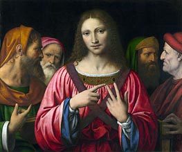 Christ among the Doctors, c.1515/30 von Bernardino Luini | Gemälde-Reproduktion