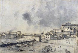 View of Parma, undated by Bernardo Bellotto   Painting Reproduction