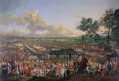 The Election of the King Stanislaus Augustus, Undated | Bernardo Bellotto | Painting Reproduction