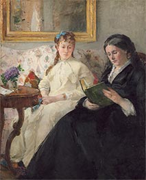 The Mother and Sister of the Artist | Berthe Morisot | Painting Reproduction
