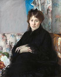 Portrait of Madame Edma Pontillon | Berthe Morisot | Painting Reproduction