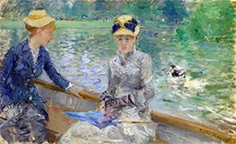 Summer's Day, c.1879 by Berthe Morisot | Painting Reproduction