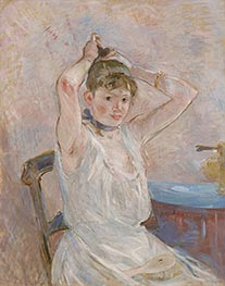 The Bath, c.1885/86 by Berthe Morisot | Painting Reproduction