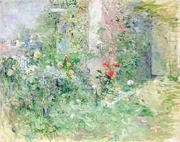 The Garden at Bougival, 1884 by Berthe Morisot | Painting Reproduction