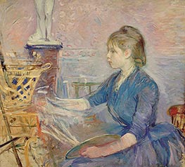 Paule Gobillard Painting | Berthe Morisot | Painting Reproduction