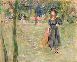Bois de Boulogne, 1893 by Berthe Morisot | Painting Reproduction