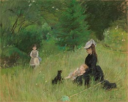 In the Park | Berthe Morisot | Painting Reproduction