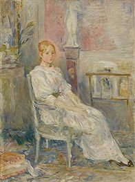 Alice Gamby in the Living Room | Berthe Morisot | Painting Reproduction