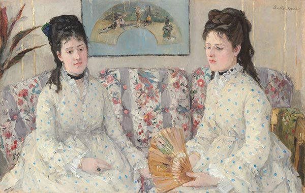 The Sisters, 1869 | Berthe Morisot | Painting Reproduction
