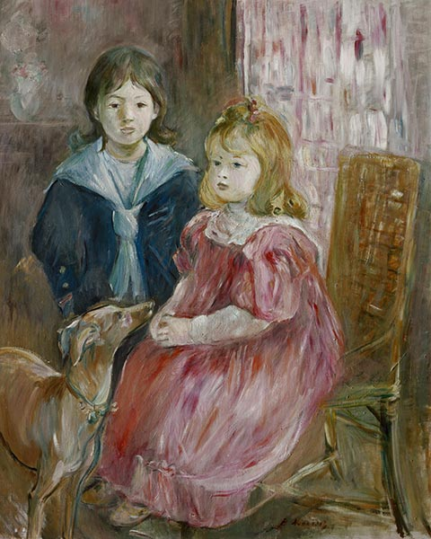 The Children of Gabriel Thomas, c.1894 | Berthe Morisot | Painting Reproduction