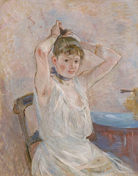 The Bath, c.1885/86 | Berthe Morisot | Painting Reproduction
