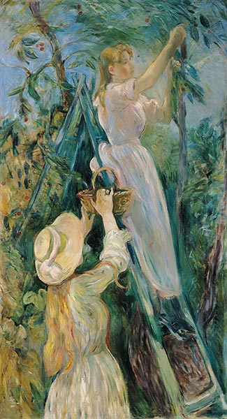 The Cherry Tree, 1891   Berthe Morisot   Painting Reproduction