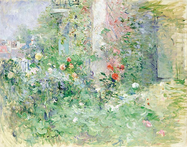 The Garden at Bougival, 1884 | Berthe Morisot | Painting Reproduction