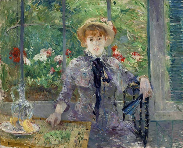 After Lunch, 1881 | Berthe Morisot | Painting Reproduction