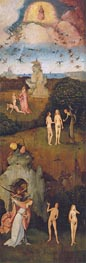 The Haywain Triptych (Left Panel), c.1512/15 by Hieronymus Bosch | Painting Reproduction