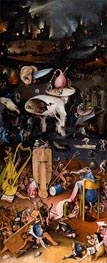The Garden of Earthly Delights Triptych (Left Panel) | Hieronymus Bosch | Painting Reproduction