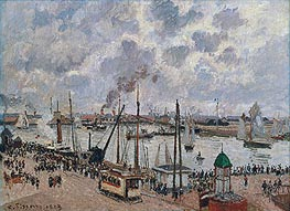 The Port of Le Havre | Pissarro | Painting Reproduction