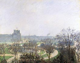 The Tuileries Gardens | Pissarro | Painting Reproduction