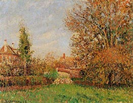 Autumn in Eragny, 1899 by Pissarro | Painting Reproduction