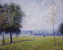 Primrose Hill, Regent's Park | Pissarro | Painting Reproduction