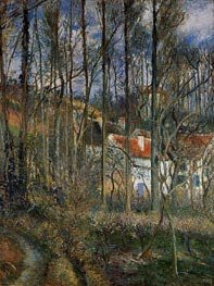 The Cote des Boeufs at L'Hermitage, near Pontoise | Pissarro | Painting Reproduction