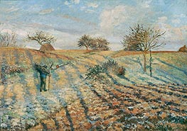 The Hoar Frost | Pissarro | Painting Reproduction