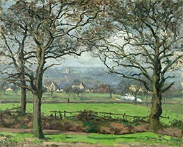 Near Sydenham Hill (Looking Towards Lower Norwood), 1871 von Pissarro | Gemälde-Reproduktion