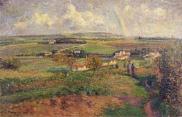 The Rainbow | Pissarro | Gemälde Reproduktion
