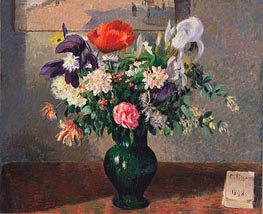 Bouquet of Flowers, 1898 by Pissarro | Painting Reproduction