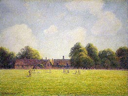 Hampton Court Green | Pissarro | Gemälde Reproduktion