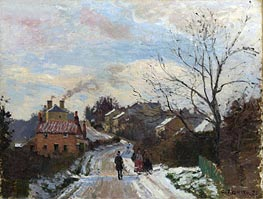 Fox Hill, Upper Norwood | Pissarro | Gemälde Reproduktion