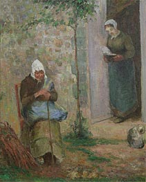 Charity | Pissarro | Painting Reproduction