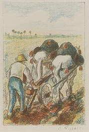 The Plough | Pissarro | Painting Reproduction