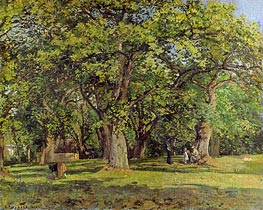 The Forest, 1870 von Pissarro | Gemälde-Reproduktion