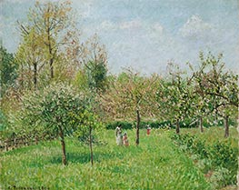 Spring at Eragny, 1900 by Pissarro | Painting Reproduction
