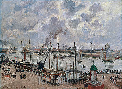The Port of Le Havre, 1903 | Pissarro | Painting Reproduction