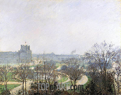 The Tuileries Gardens, 1900 | Pissarro | Painting Reproduction
