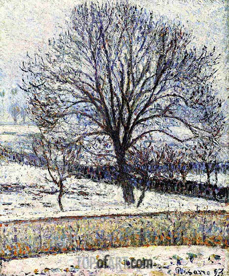 The Thaw, Eragny, 1893 | Pissarro | Painting Reproduction