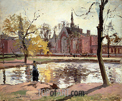 Dulwich College, London, 1871 | Pissarro | Painting Reproduction